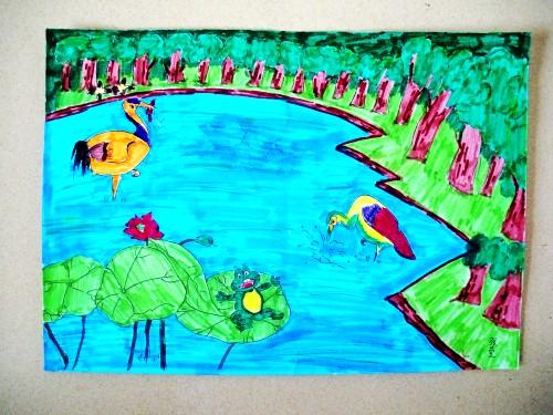 我的梦想儿童公主画_我的梦想画一幅画
